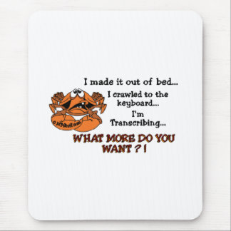 Crabby MT Mouse Pad