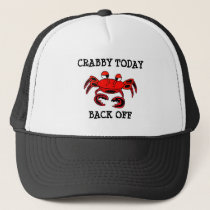 Crabby Today Back Off Ball Cap