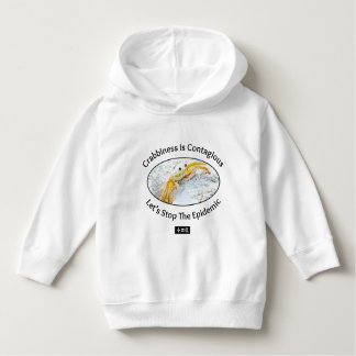 Crabby Toddler Pullover Hoodie