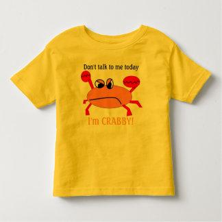 Crabby! Toddler T-shirt