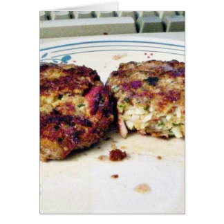 Crabcakes Food Card