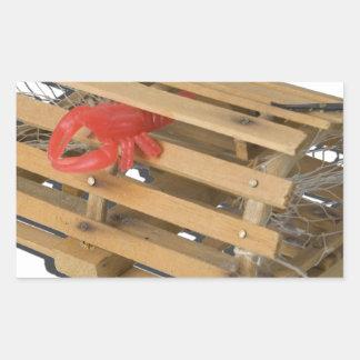 CrabPot052215.png Pegatina Rectangular