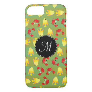 Crabs and fish iPhone 8/7 case