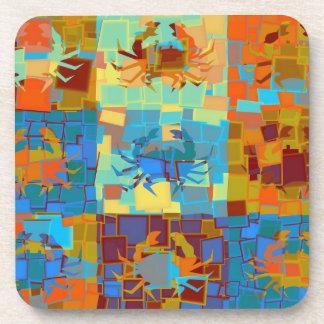 Crabs Art Graphic Design 036 Coaster