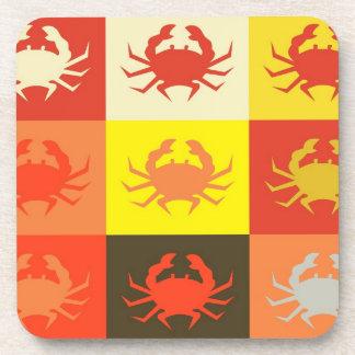 Crabs Art Graphic Design 2 Coaster