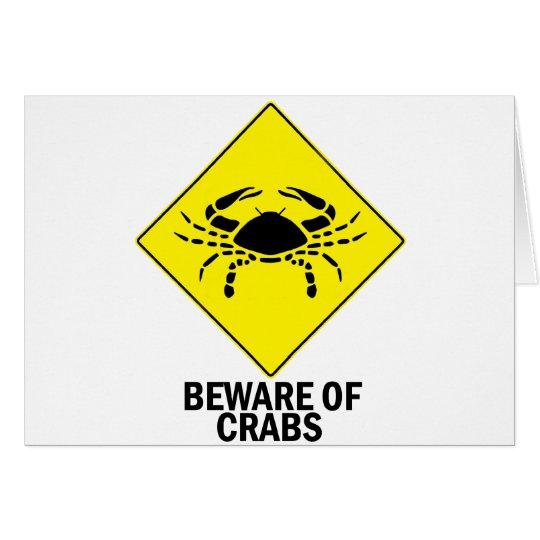 Crabs Card