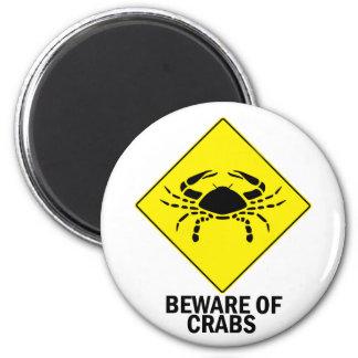 Crabs Fridge Magnets