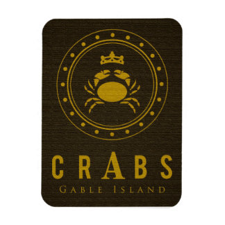 Crabs Gable Island® Magnet
