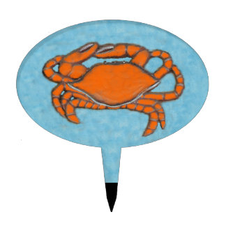 Crabs (Maryland, Gulf and East Coast).jpg Cake Topper