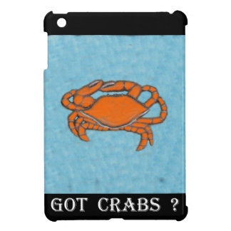 Crabs (Maryland, Gulf and East Coast).jpg iPad Mini Cover