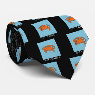 Crabs (Maryland, Gulf and East Coast).jpg Neck Tie