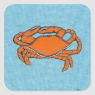 Crabs (Maryland, Gulf and East Coast).jpg Square Sticker