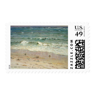 Crabs on the Beach by D. Howard Hitchcock Postage
