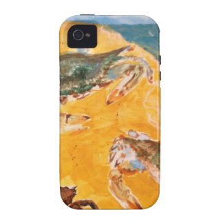Crabs on the beach vibe iPhone 4 cover
