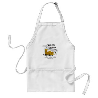Crabs over Castles Adult Apron