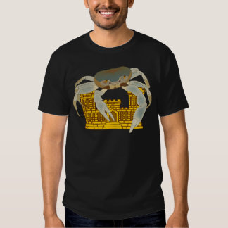 Crabs over castles t shirt