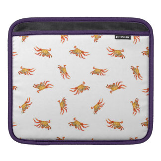 Crabs Photo Collage Pattern Design Sleeve For iPads