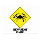 Crabs Post Card