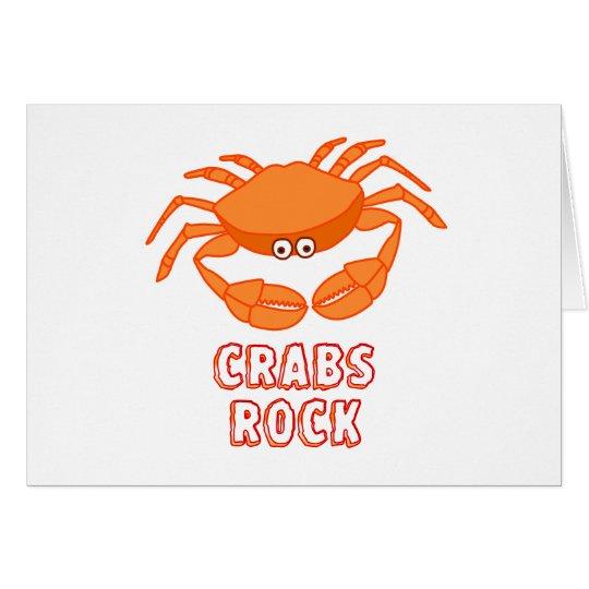 Crabs Rock Card