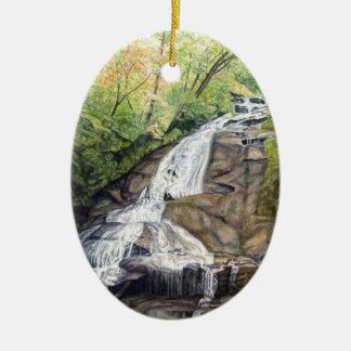 Crabtree Falls Virginia Ornament