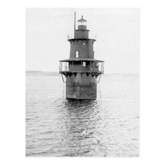 Crabtree Ledge Lighthouse Postcard