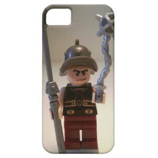 """""""Cracalla el gladiador"""" Minifigure de encargo Funda Para iPhone 5 Barely There"""
