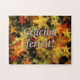 Crăciun fericit! Merry Christmas in Romanian wf Jigsaw Puzzle