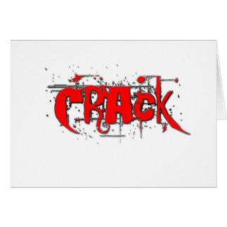 Crack Card