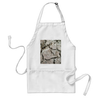 crack earth adult apron
