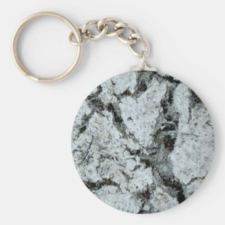 crack earth keychain