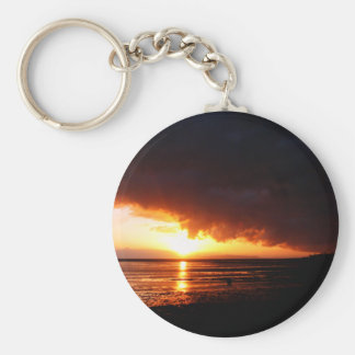 Crack In The Earth Keychain