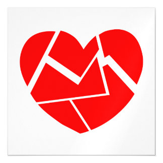 Crack Love Magnetic Card
