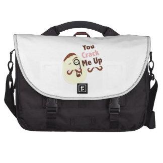 Crack Me Up Commuter Bags