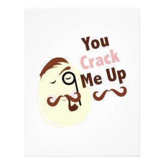 Crack Me Up Letterhead