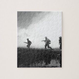 Crack troops of the Vietnamese Army in combat oper Jigsaw Puzzle