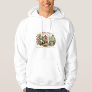Crack Vintage Team Baseball by RetroCharms Hoodie