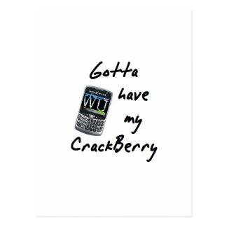 Crackberry Postales