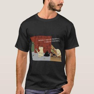 CrackberryAppleholic Dark Colors Wide Image T-Shirt