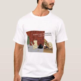 CrackberryAppleholic Light Colors Wide Image T-Shirt