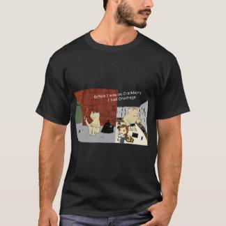 CrackberryDroidrage Dark Colors Wide Image T-Shirt