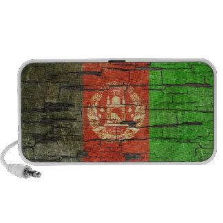 Cracked Afghan Flag Peeling Paint Effect Mini Speakers