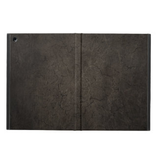 Cracked Aged and Rough Dark Brown Vintage Texture iPad Air Case