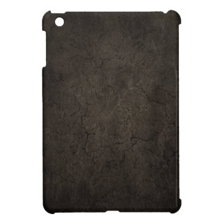 Cracked Aged and Rough Dark Brown Vintage Texture iPad Mini Cover