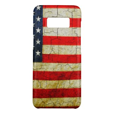 USA Themed Cracked America flag Case-Mate Samsung Galaxy S8 Case