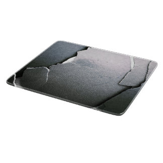 Cracked and Broken Cutting Board