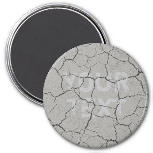 Cracked Battleship Gray Grey  Kitchen  Magnet