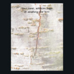 "Cracked Birch Bark Letterhead<br><div class=""desc""></div>"