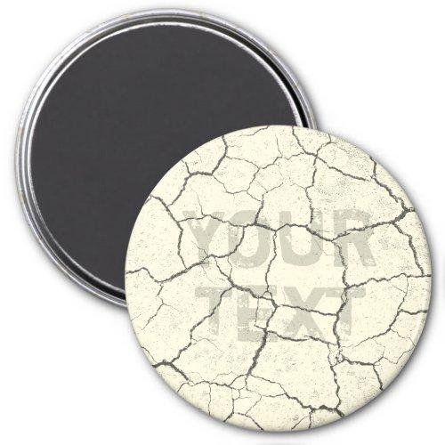 Cracked Bone White Vintage Kitchen  Magnet