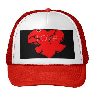Cracked + Broken Heart Trucker Hat