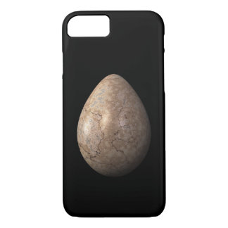 Cracked Brown Egg iPhone 7 Case